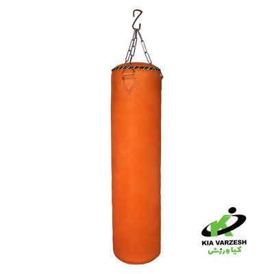 کیسه بوکس چرم طبیعی ۱۲۰ سانتی متر