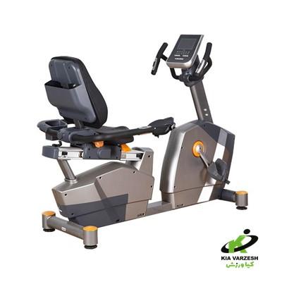 دوچرخه ثابت پشتی دار dft fitness مدل 3100