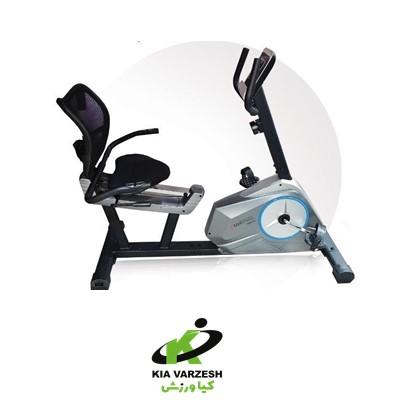 دوچرخه ثابت پشتی دار EMHfitness مدل 6001R